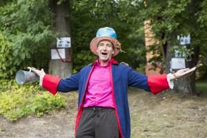 """""""Die kleine Klimaprinzessin"""", Inszenierung fuer Kinder auf dem Potsdamer Telegraphenberg am 22.09.2015"""